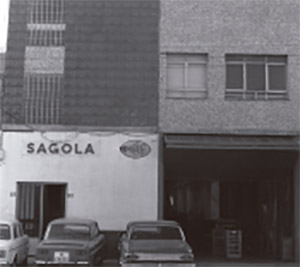 Ancient facade of Sagola