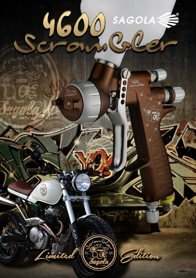 4600 Scrambler spray gun