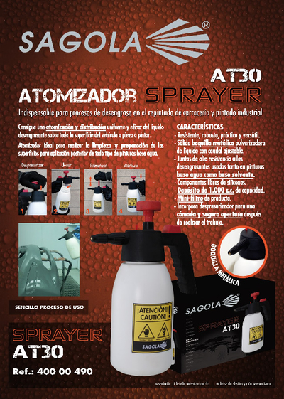 Atomizador SPRAYER AT30
