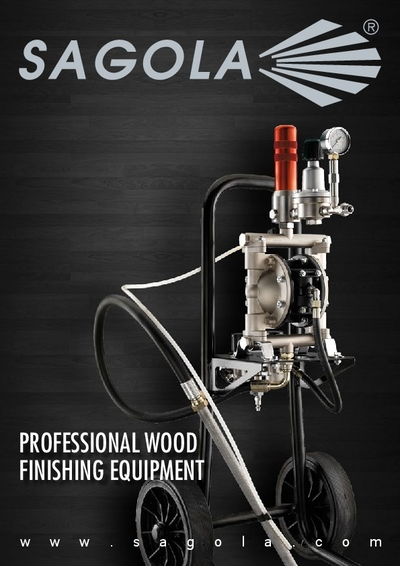 Brochure Professional wood finishing equipment