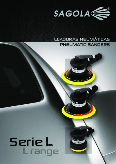 Catálogo Lijadoras neumáticas