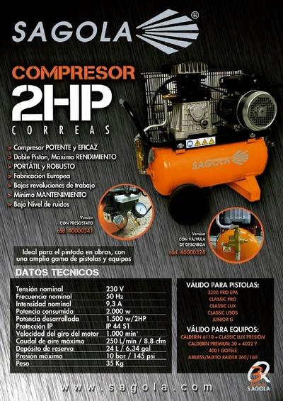 Compresor 2Hp