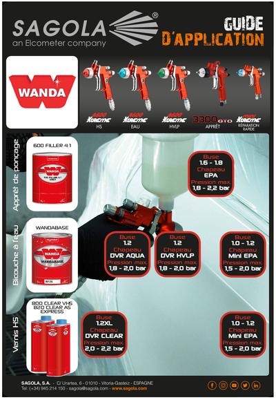 Guide d'application Wanda