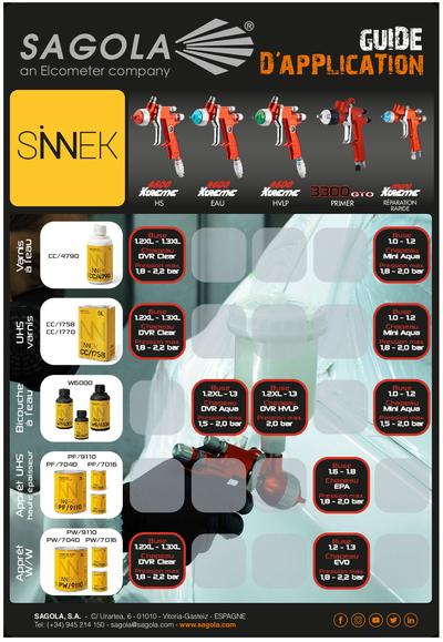 Guides d'application Sinnek