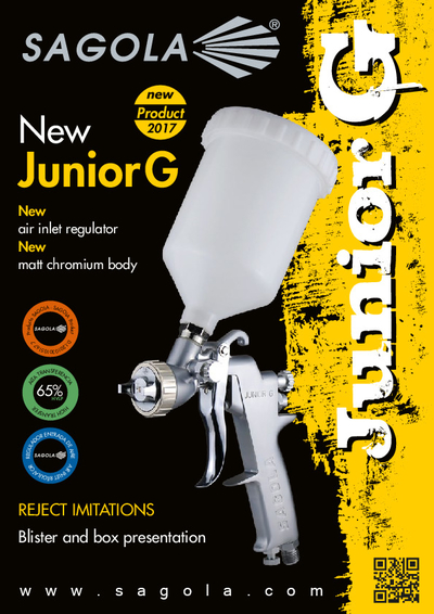Junior G spray gun