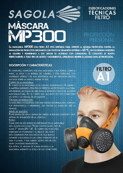 Máscara MP300