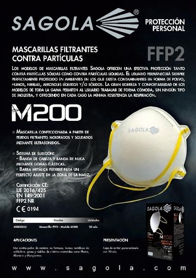 Mascarillas M200