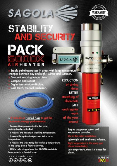 Pack 6000X Air Heater