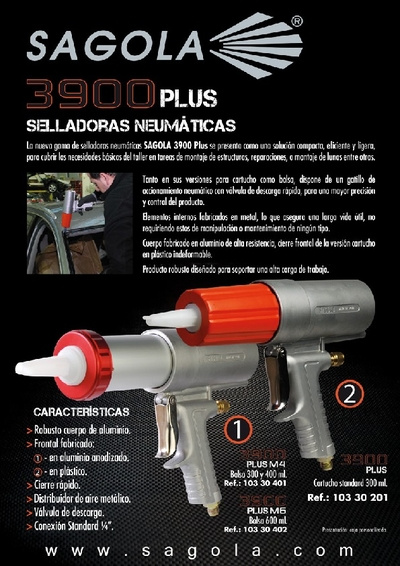 Pistola selladora 3900 Plus