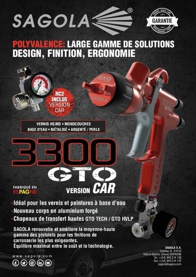 Pistolet 3300 GTO CAR