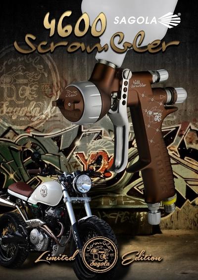 Pistolet 4600 Scrambler