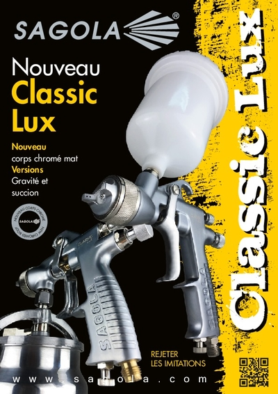 Pistolet Classic Lux