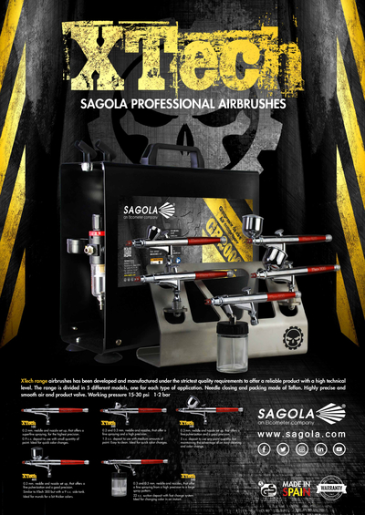 Poster Aerógrafos XTech