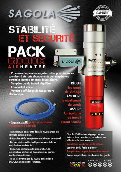 Réchauffeur d'air Pack 6000X