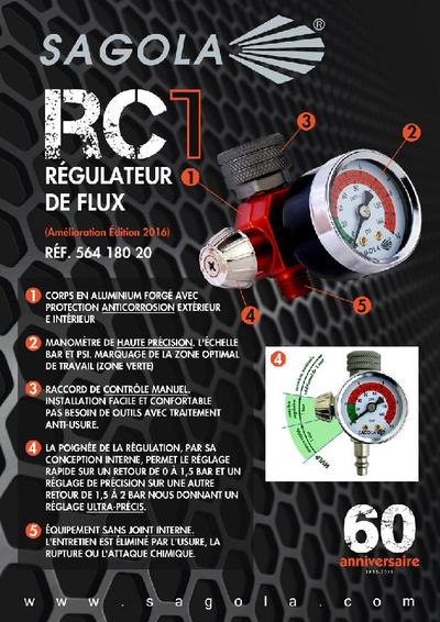 Régulateur de flux RC1
