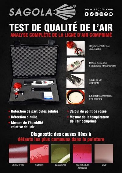 Test de qualité de l'air