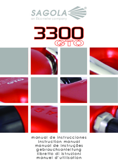 Pistola 3300 GTO Succión