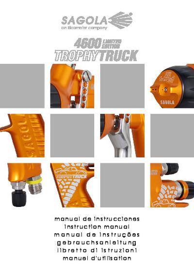 Pistola 4600 Trophy Truck
