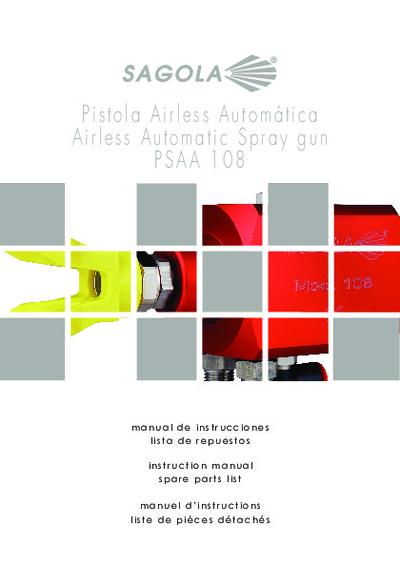 Pistola automática PSAA 108