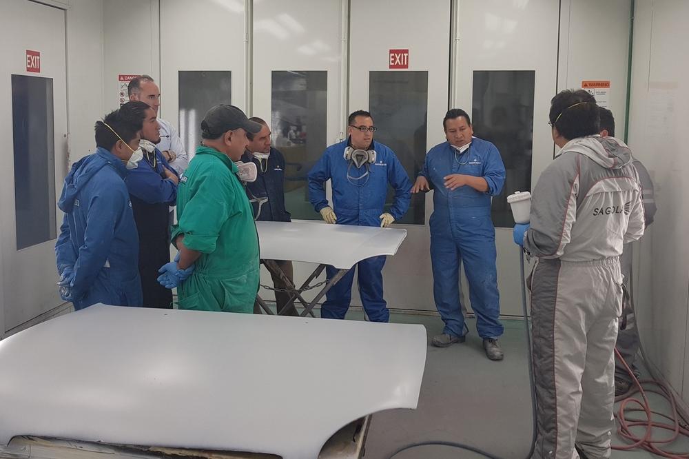 Training seminar in Cesvi Mexico