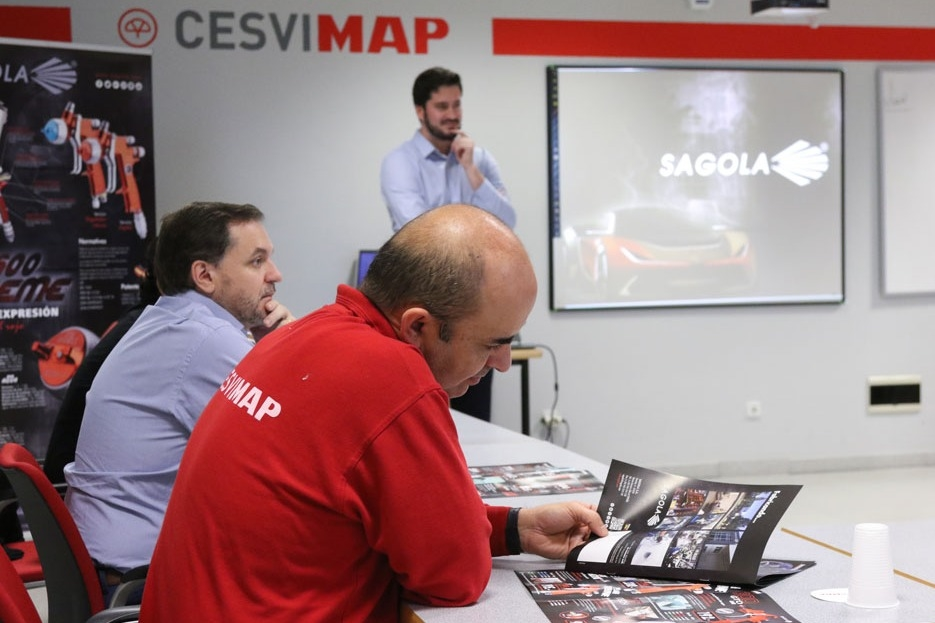 Sagola in Cesvimap, new products presentation