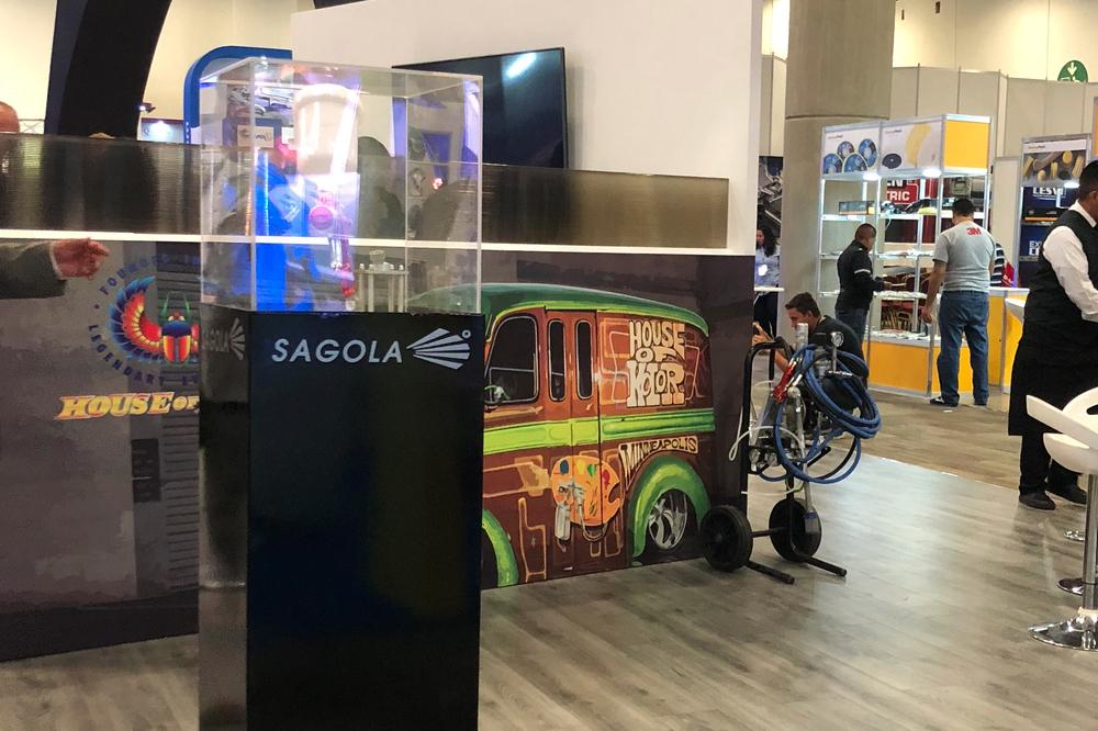 SAGOLA MEXICO presente en la última edición de la EXPOCESVI