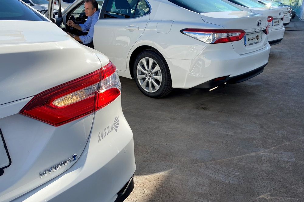Sagola renews its fleet of hybrid vehicles