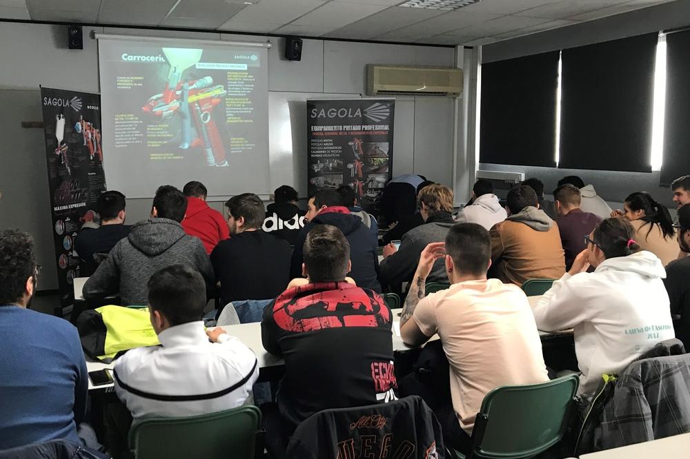 Training course in CTV Barcelona
