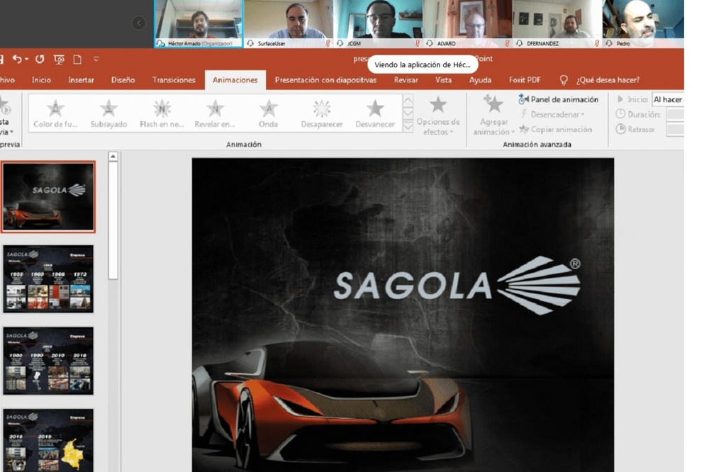 SAGOLA'S PRODUCT DEPARTMENT INTENSIFYES ON LINE TRAININGS