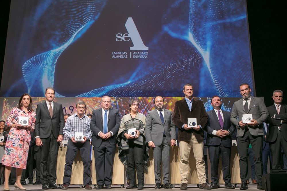 Sagola was honored by SEA Empresas Alavesas