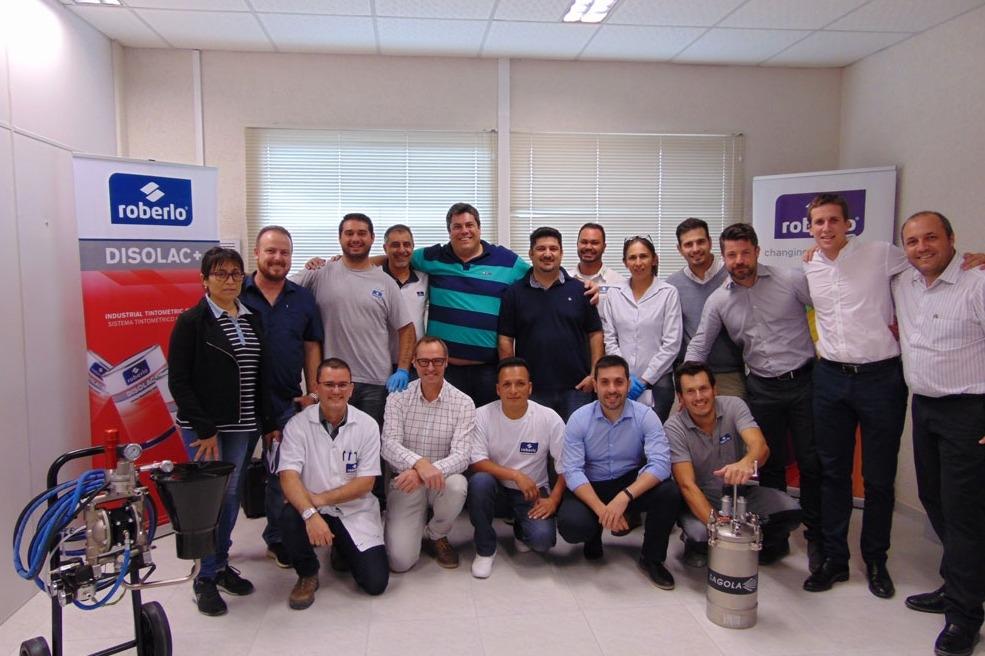 Training course in Roberlo do Brasil
