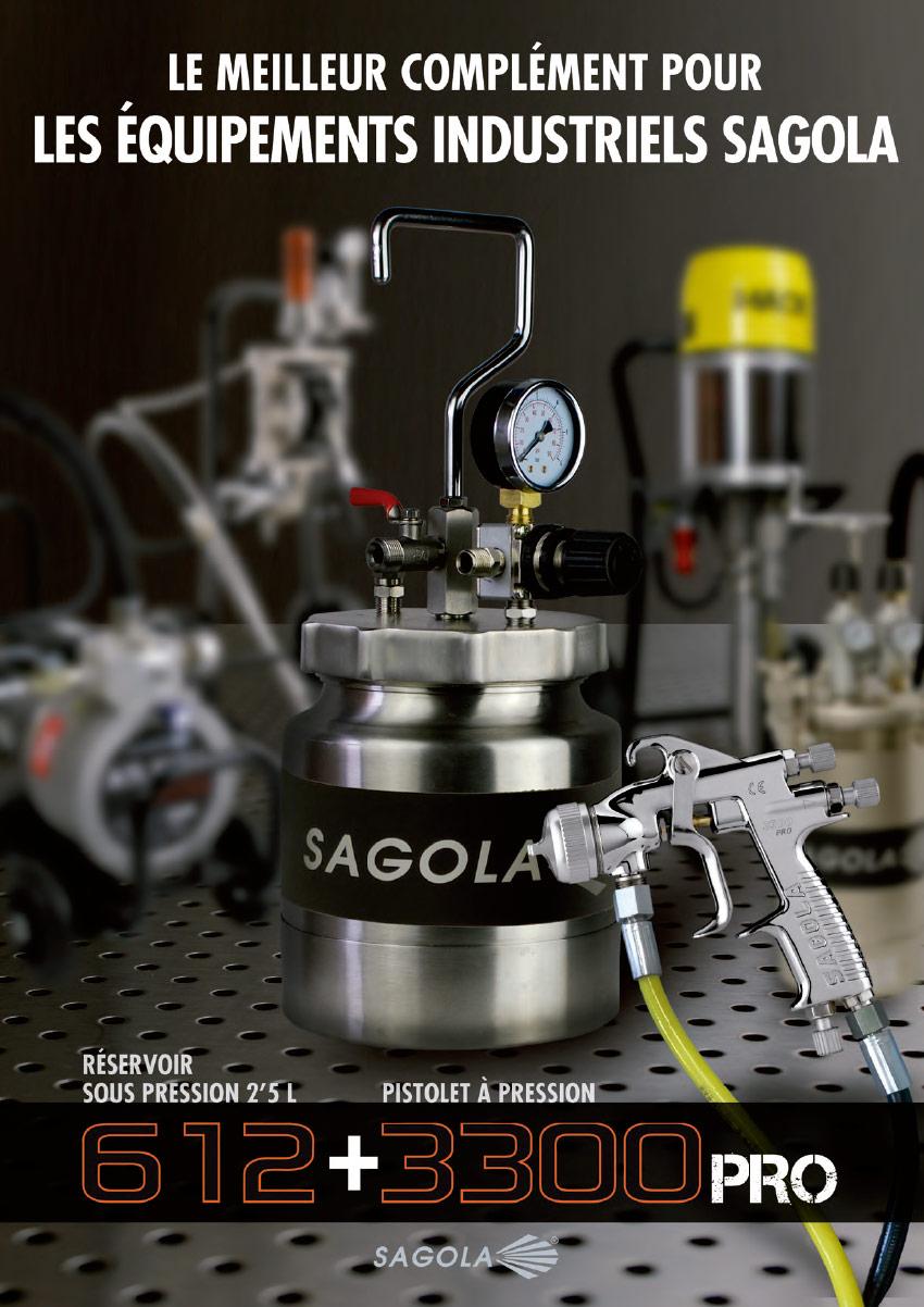 Réservoir sous pression 612 SAGOLA