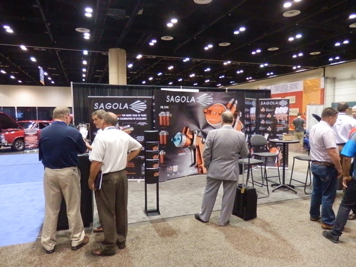 NACE 2011: SAGOLA presented its new products for the bodyshop sector in ORLANDO (USA)