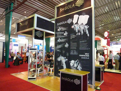 Sagola participates in the Expo Reparacion Automotriz 2010 with its exclusive importer Paint Shop
