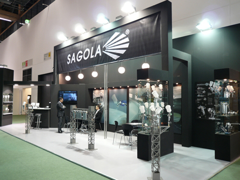 SAGOLA stands out by tripling the space of his stand during the last edition of the Fair Automechanika 2010