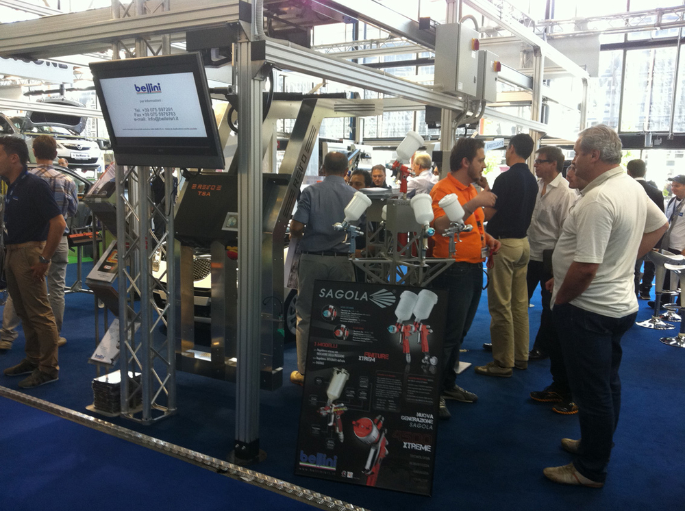 SAGOLA and BELLINI present the 4500 XTREME and the new line of FILTERS SERIES 5000 in AUTOPROMOTEC exhibition in ITALY