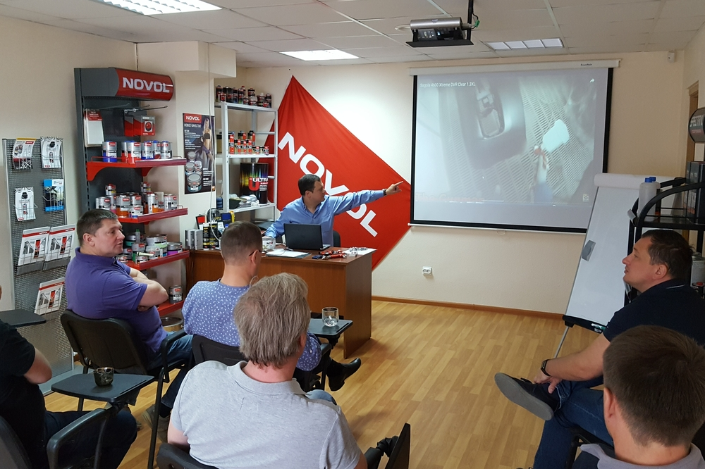Sagola visits Finishing Group, its official importer in Russia