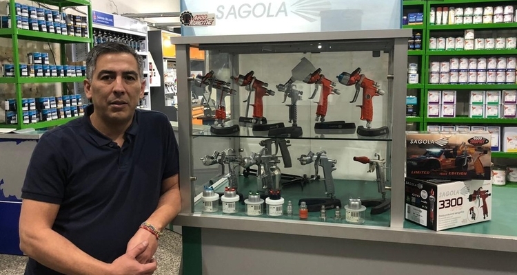 Palamos Pinturerías, new Official and Authorized Sagola Importer in Argentina