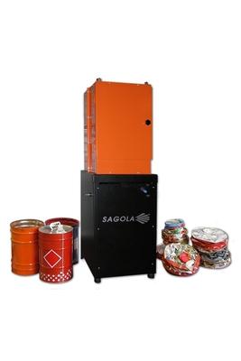 Compactadora de latas