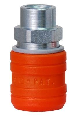 Enchufe Euro Perfil T2 Acero y Composite - Seguridad