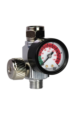 Regulador de caudal con manómetro RC2