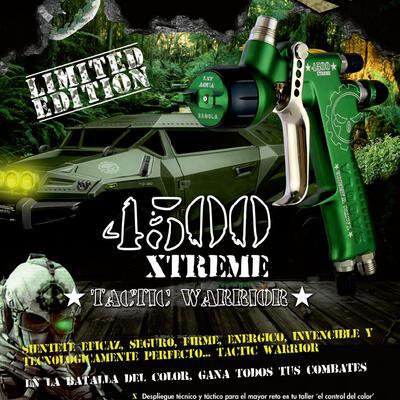 """Nueva edición limitada 4500 XTREME """"TACTIC WARRIOR"""""""