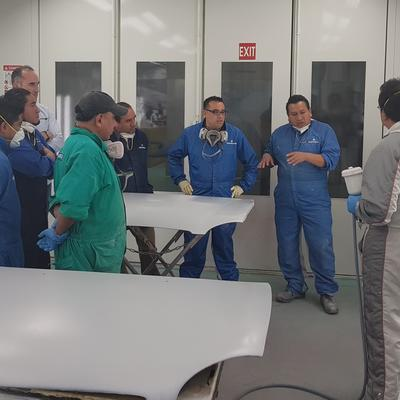 Training seminar in Cesvi Mexico