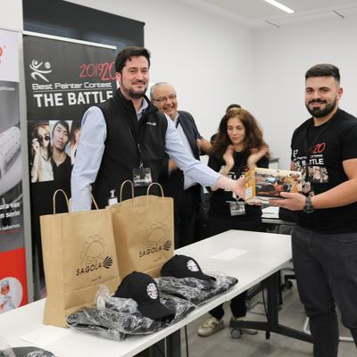 SAGOLA PARTNER DEL CONCURSO R-M BEST PAINTER CONTEST