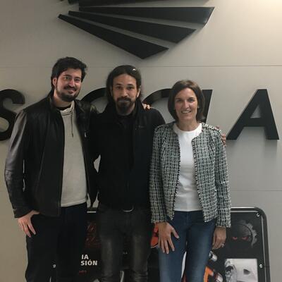 David Gatta visita Sagola