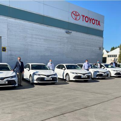 Sagola renews its fleet of hybrid vehicles