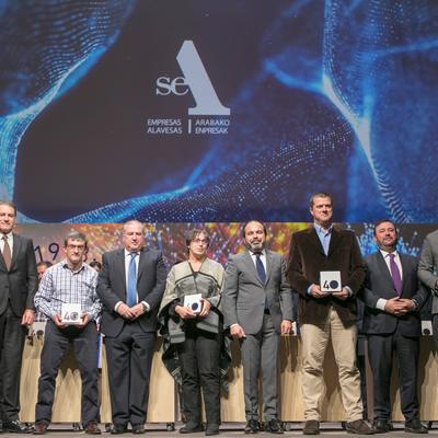 Sagola was honored by SEA Empresas Alavesas
