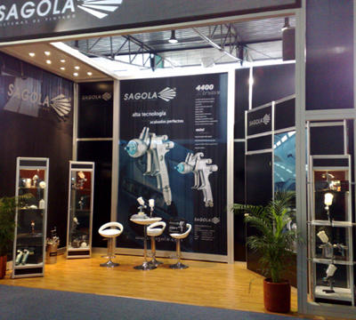 SAGOLA presents its range of bodywork in fairs and EXPO CESVI MOTORTEC (Mexico)