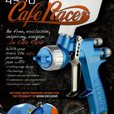 New 4500 Cafe Racer