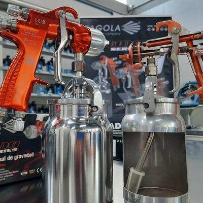 Presentamos en CESVI nuestra gama de pintado industrial y equipos de inspección